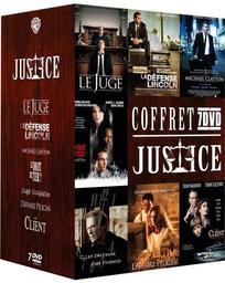 Coffret Justice : 7 films / Joel Schumacher, David Dobkin, Brad Furman... [et al.], réal. | Schumacher , Joel . Metteur en scène ou réalisateur